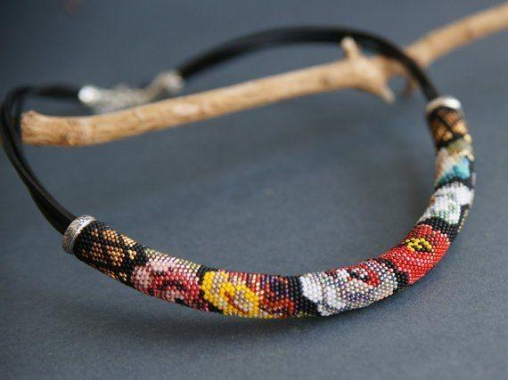Ketten Pinterest Beads Bead Crochet And