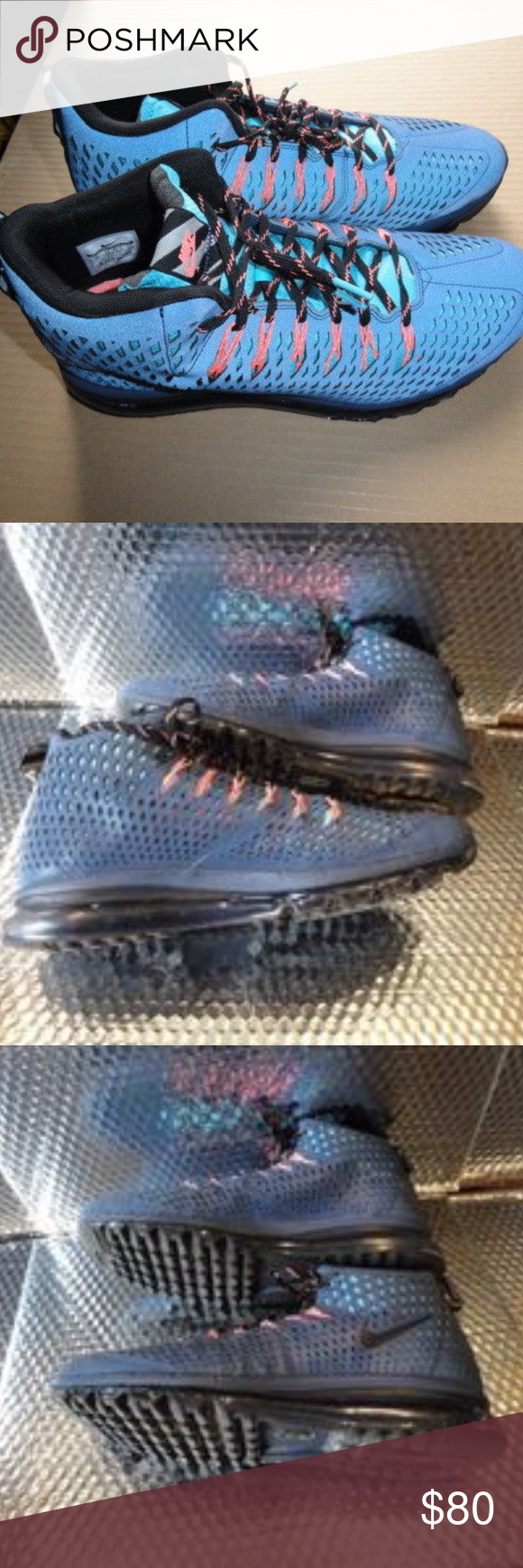 new concept c6def 51e22 Mens NIKE Air Max Graviton Blue Casual Shoes Sneak This is a almost new  pair of