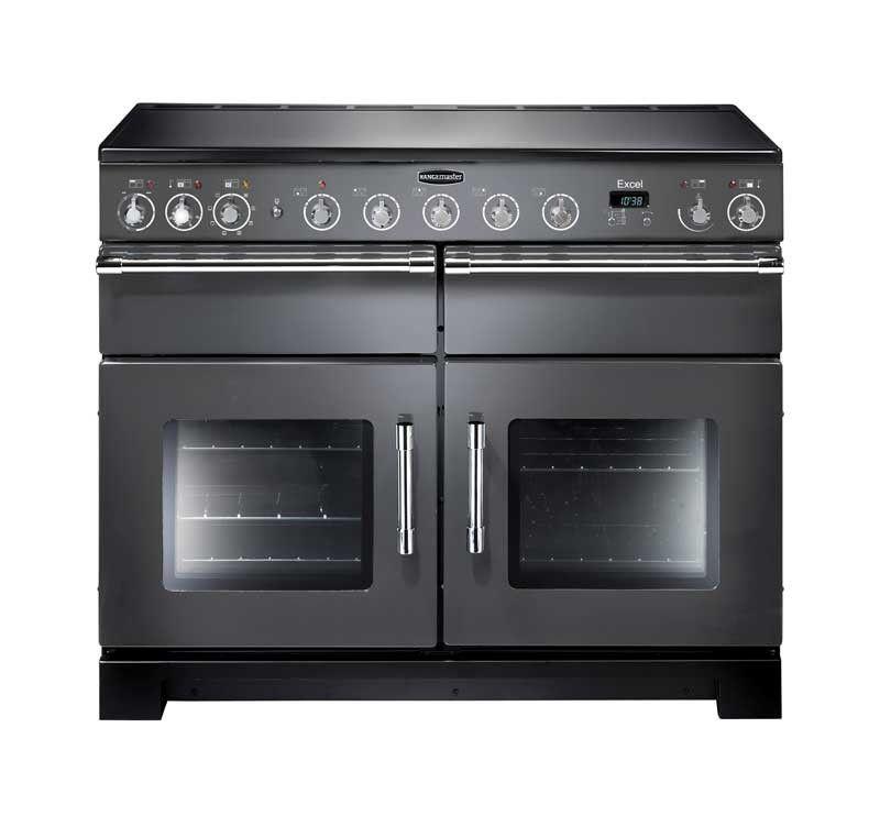 Rangemaster Excel Induction Slate Range Cooker Cuisines - Gaziniere mixte gaz induction pour idees de deco de cuisine