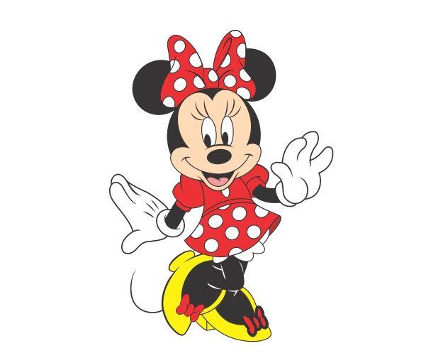 Minie Pink Vector Minnie Vermelha Png Mickey Mouse Cartoon Cartoon