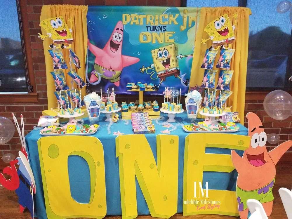 Spongebob Birthday Party Ideas Spongebob Birthday Party