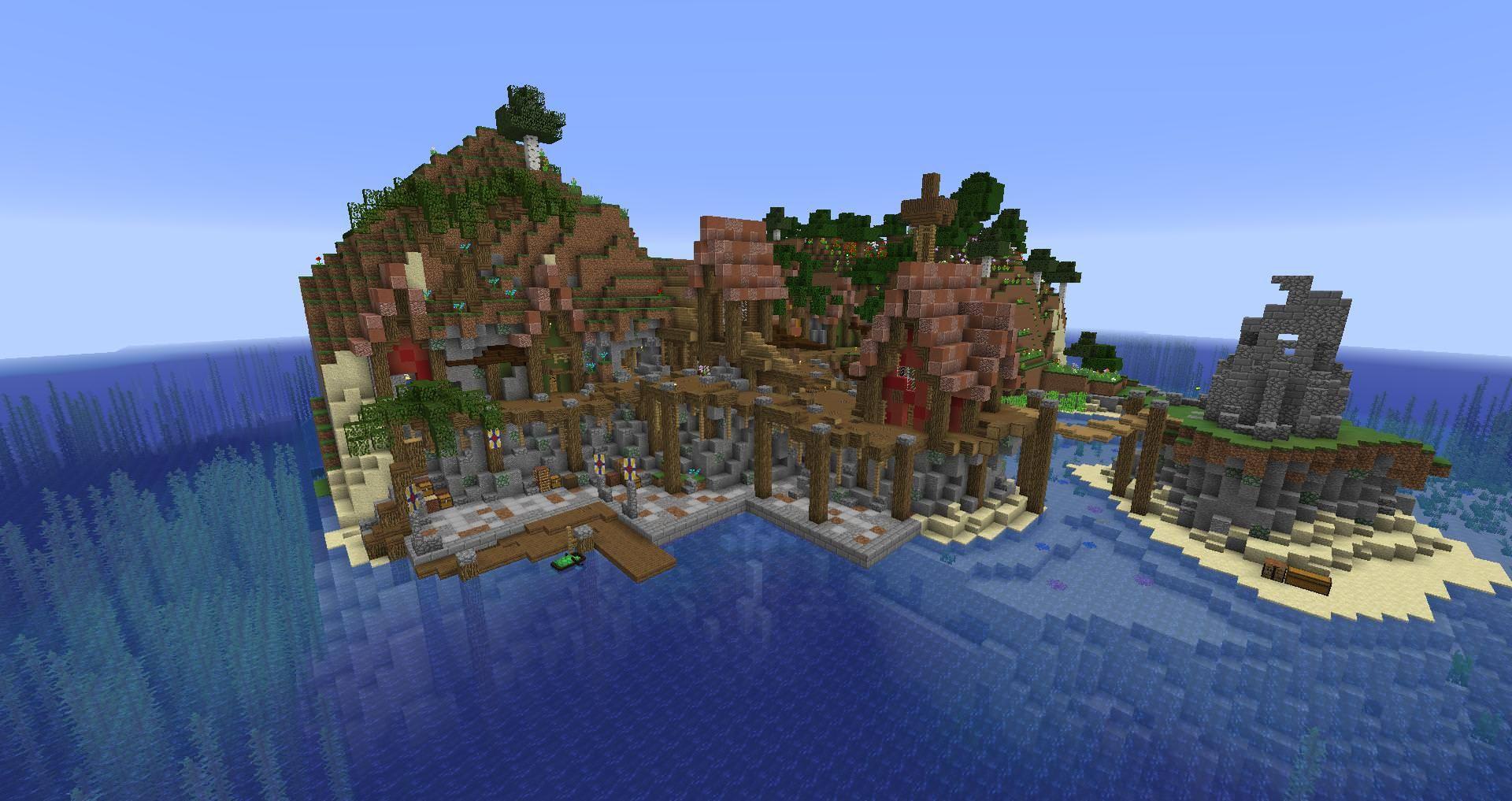 Pirate cove minecraft survival multiplayer base album on imgur
