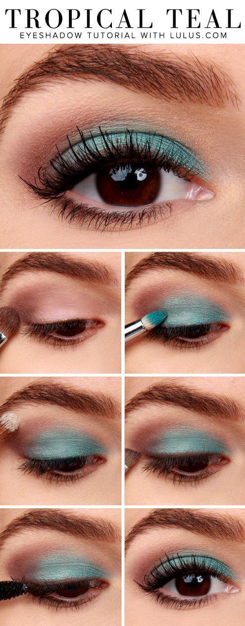 20 instrucciones simples y paso a paso para comenzar con la sombra de ojos – Makeup İdeas