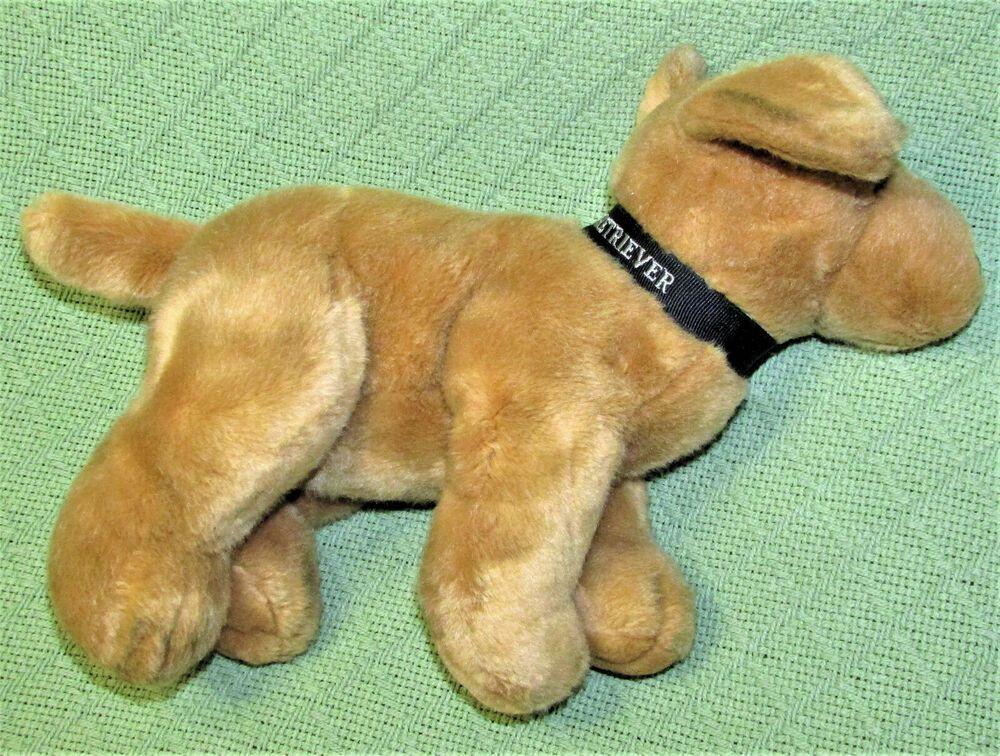 Russ Berrie Golden Retriever Dog Beanbag Stuffed Animal 12 With