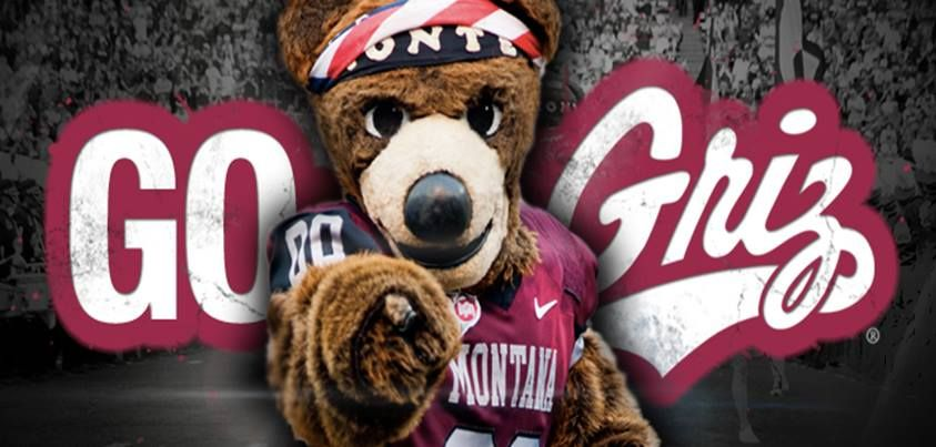 The University Of Montana S Mascot Monte Go Griz Montana