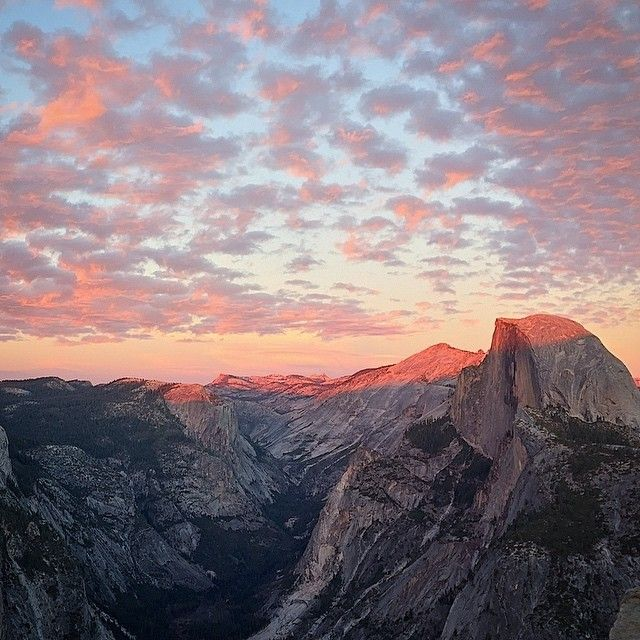 The Perfect Weekend Getaway In Yosemite Valley: The View From Glacier Point, High Above Yosemite Valley