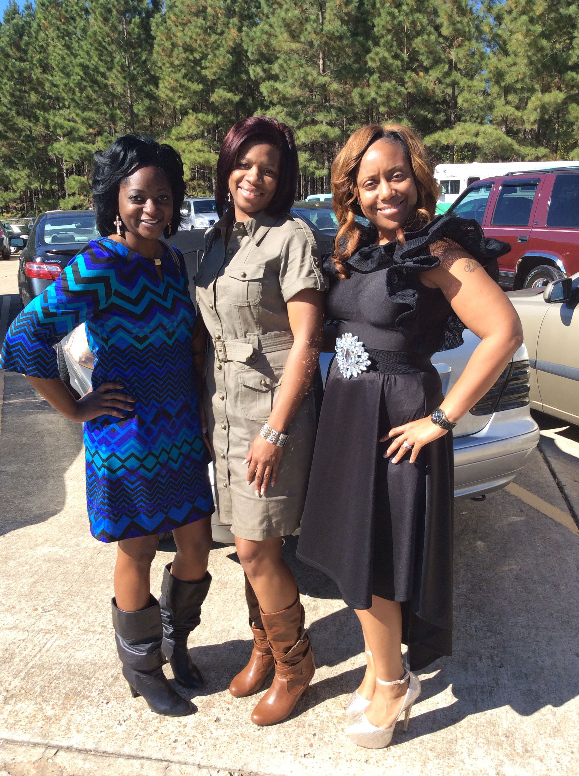 My Girls And I My Attire Is From Fondren S Fashion House Fashion