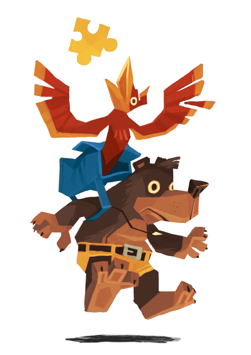 Bear Backpack Bird By Ungapants On Deviantart Character Design Geek Art Geeky Art