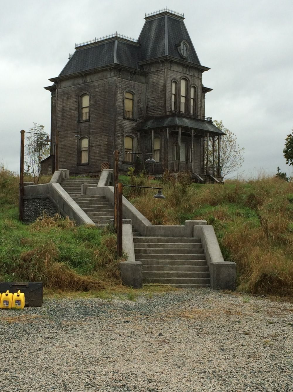 Set Of 'bates Motel'. Norman'