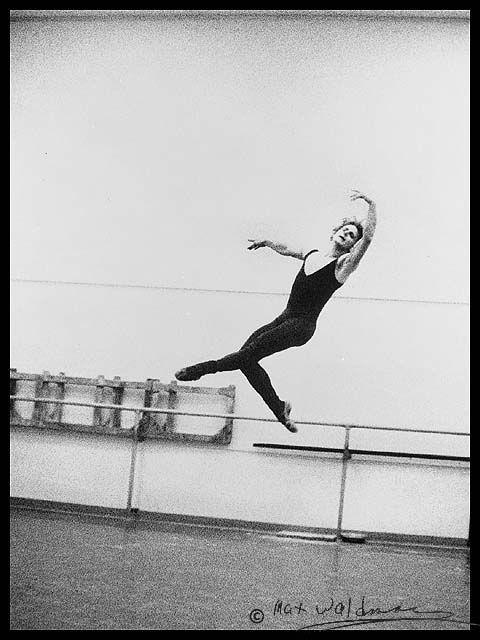 Mikhail Baryshnikov.  One of the greatest ballet dancers of the 20th century.