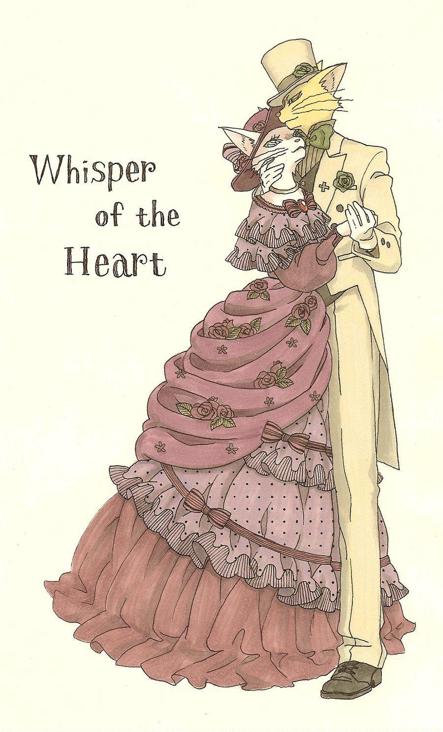 Whisper of the Heart by nako-2.deviantart.com on @deviantART