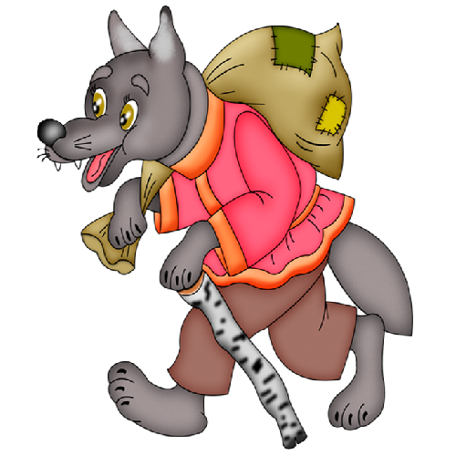 Cartoon Wolf Clip Art Images On A Transparent Background ...