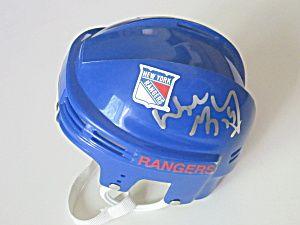 Wayne Gretzky Signed/Autographed NY Rangers Mini Hockey Helmet, Proof