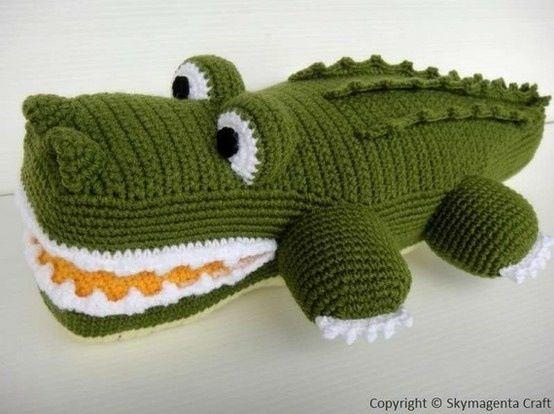 Pin Von Josee Zillekens Auf Manualidades Crochet Tiere Hakeln Krokodil Hakeln Stricken Und Hakeln