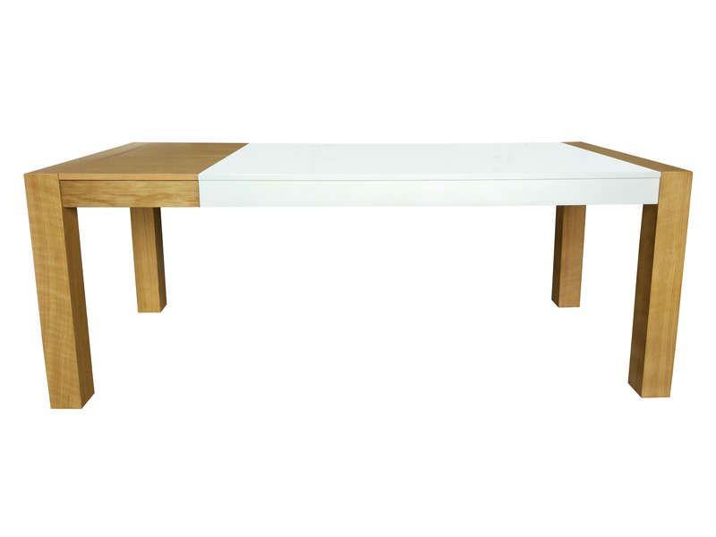 Table Avec Allonge L Max 200 Cm Tenessi Pas Cher Table Conforama