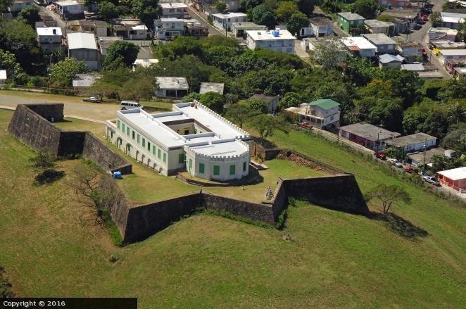 Fort Conde De Mirasol Isabel Segunda Puerto Rico Vieques