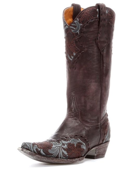 Cowboy Professional Boot Company Women's Almond Brown Vitralli ...
