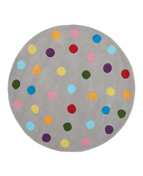 Callisto Round Rainbow Confetti Kids Rug Rock Pinterest Confetti - confeti