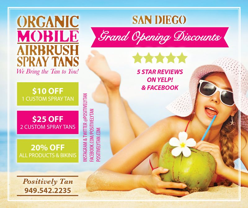 Work with Me Airbrush spray tan, Mobile spray tanning