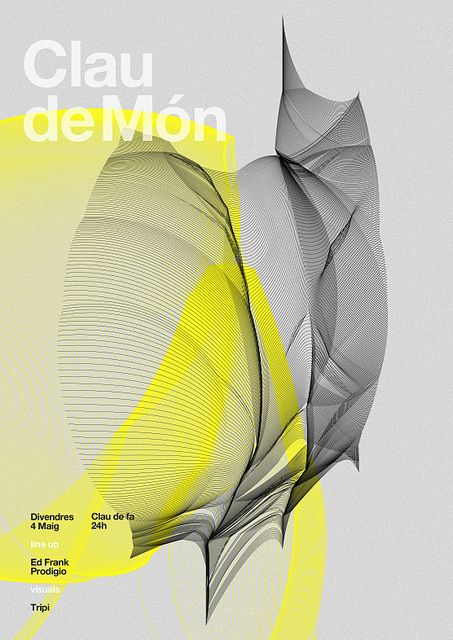 Poster electronic music   | marindsgn by MARIN DSGN, via Flickr