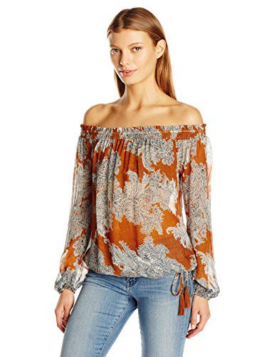 Lucky Brand Women's Printed Multi Function Top - http://www.darrenblogs.com/2016/11/lucky-brand-womens-printed-multi-function-top/
