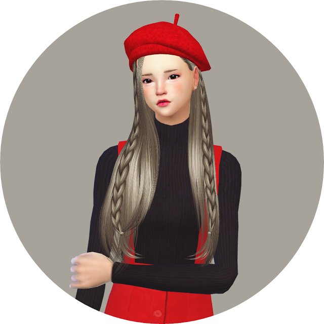 44f92f5b10d Sims 4 CC s - The Best  Beret for Males   Females by Marigold