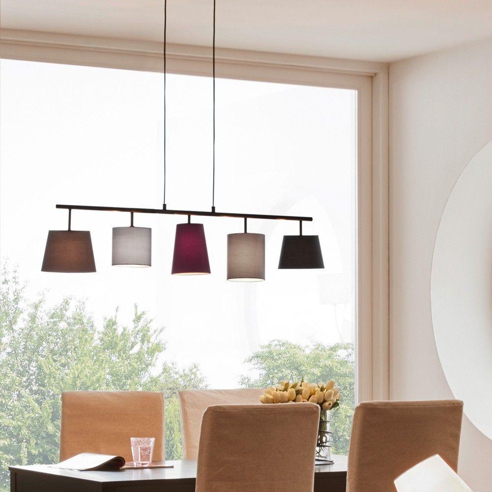 chimney unverwechselbare 5 flg pendelleuchte schwarz bunt 46832 trends aktuelle licht. Black Bedroom Furniture Sets. Home Design Ideas