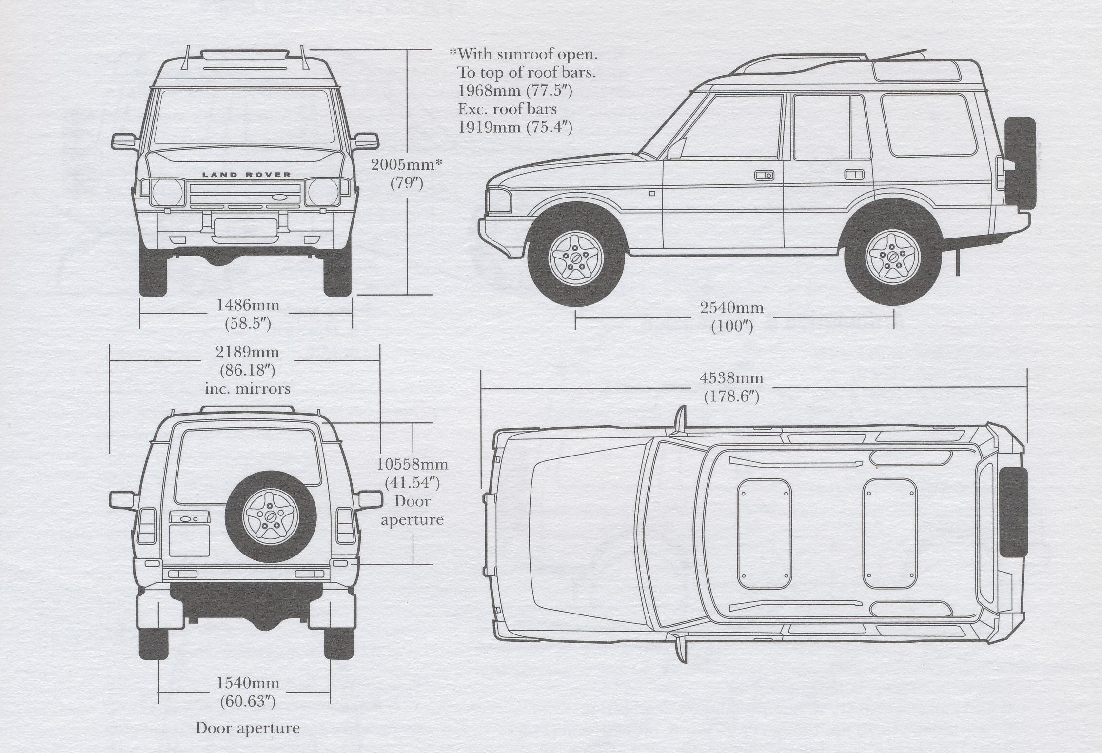 Land Rover Discovery 97 Smcars