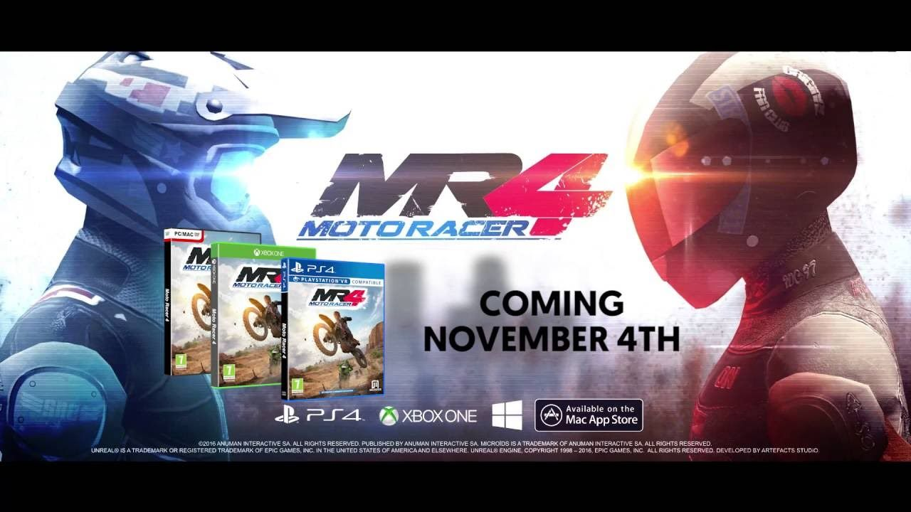 Moto Racer 4 Trailer Out November 4th on PS4 XB1 and PC!