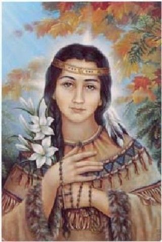 St. Kateri Takakwitha is the patron saint of the environment. She is the first Native American saint.
