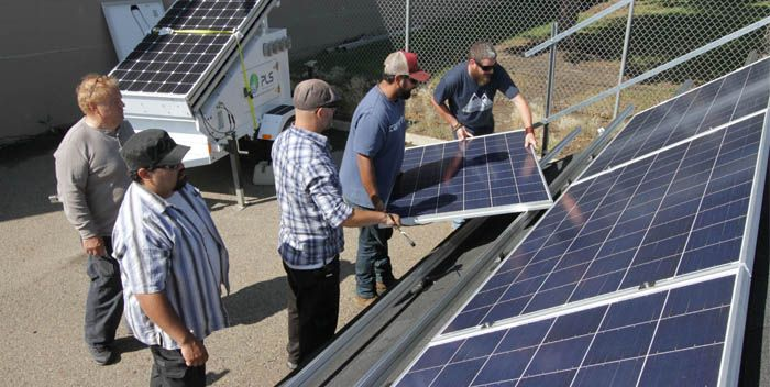 Solar Training On The Rise Calgary Is Green With Images Solar Sustainability Sustainable Energy