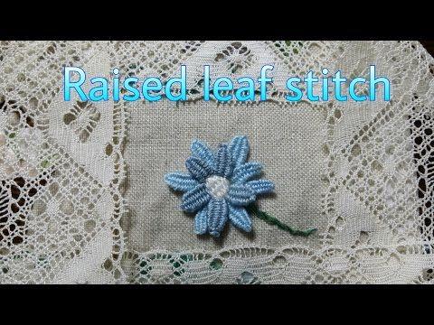 *홍진하의자수클래식*Ribbed spider web stitch (립배드 스파이더 웹 스티치) 자수기법 독학으로 배우기 - YouTube