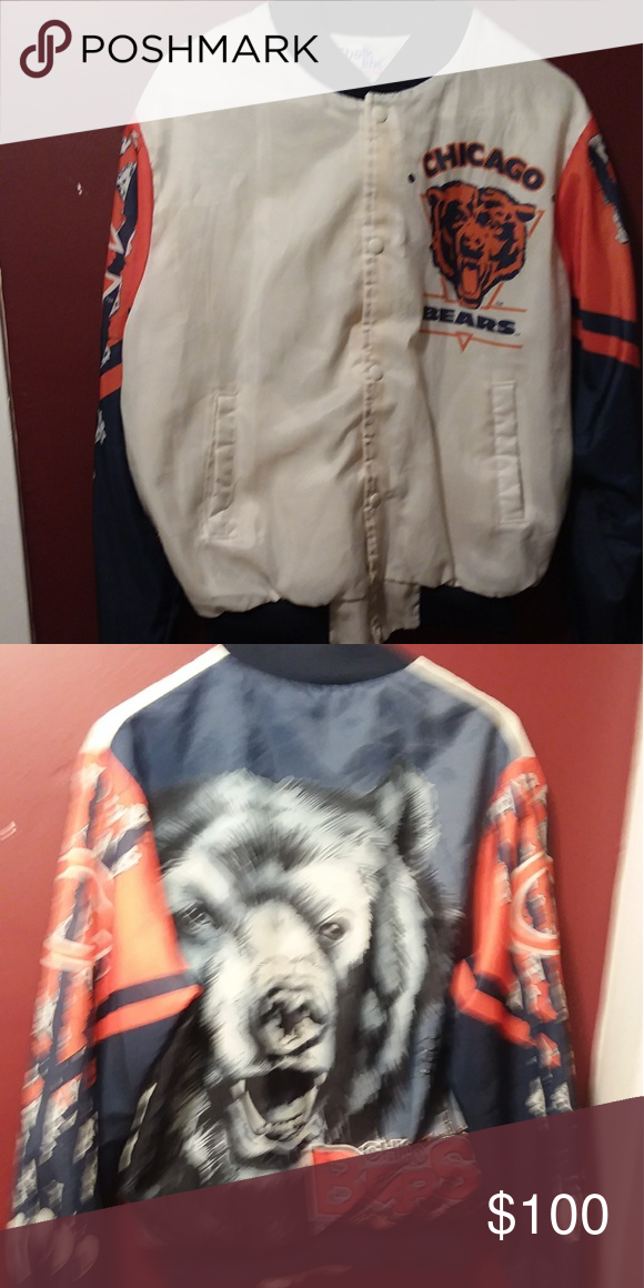 0df024b50 Chalk line fanimation jacket This is a 90s Chicago bears chalk line jacket.  Size medium starter chalk line Jackets   Coats Performance Jackets