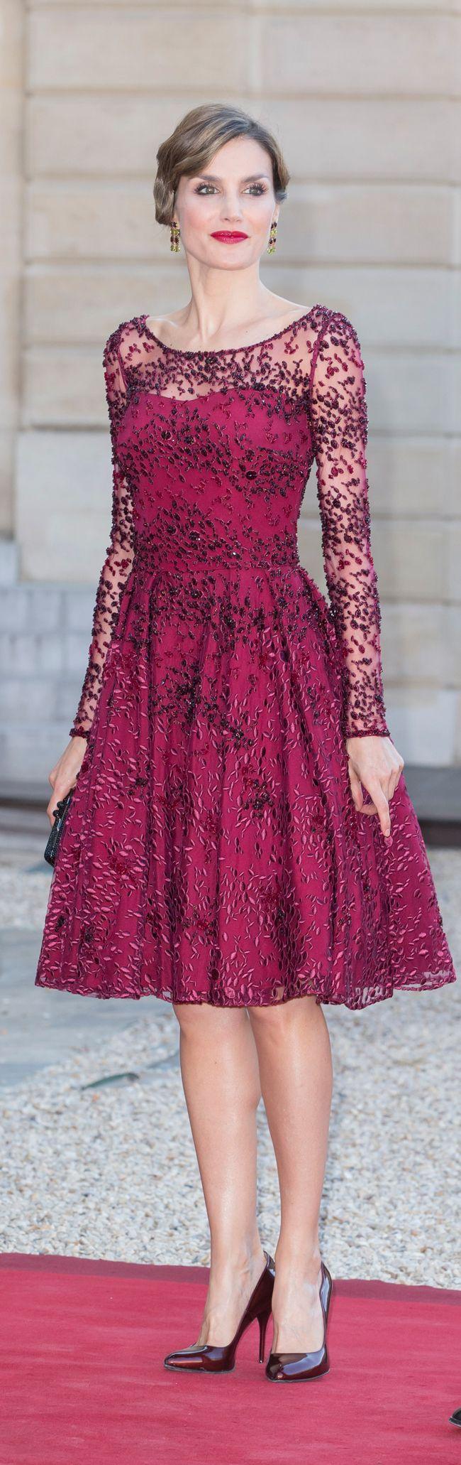 Koningin Letizia | fashion | Pinterest | Reinas, Vestiditos y Reina ...
