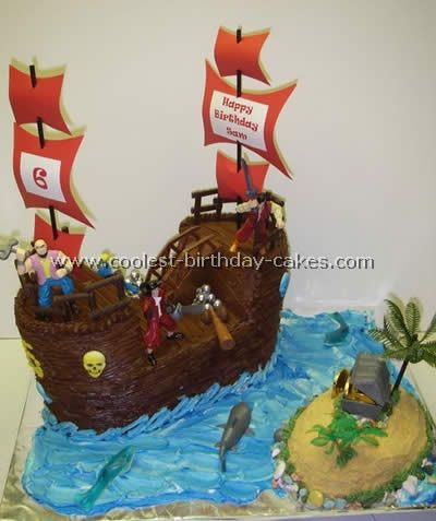 Coolest Homemade Pirate Ship Cakes Photo Gallery Foodies