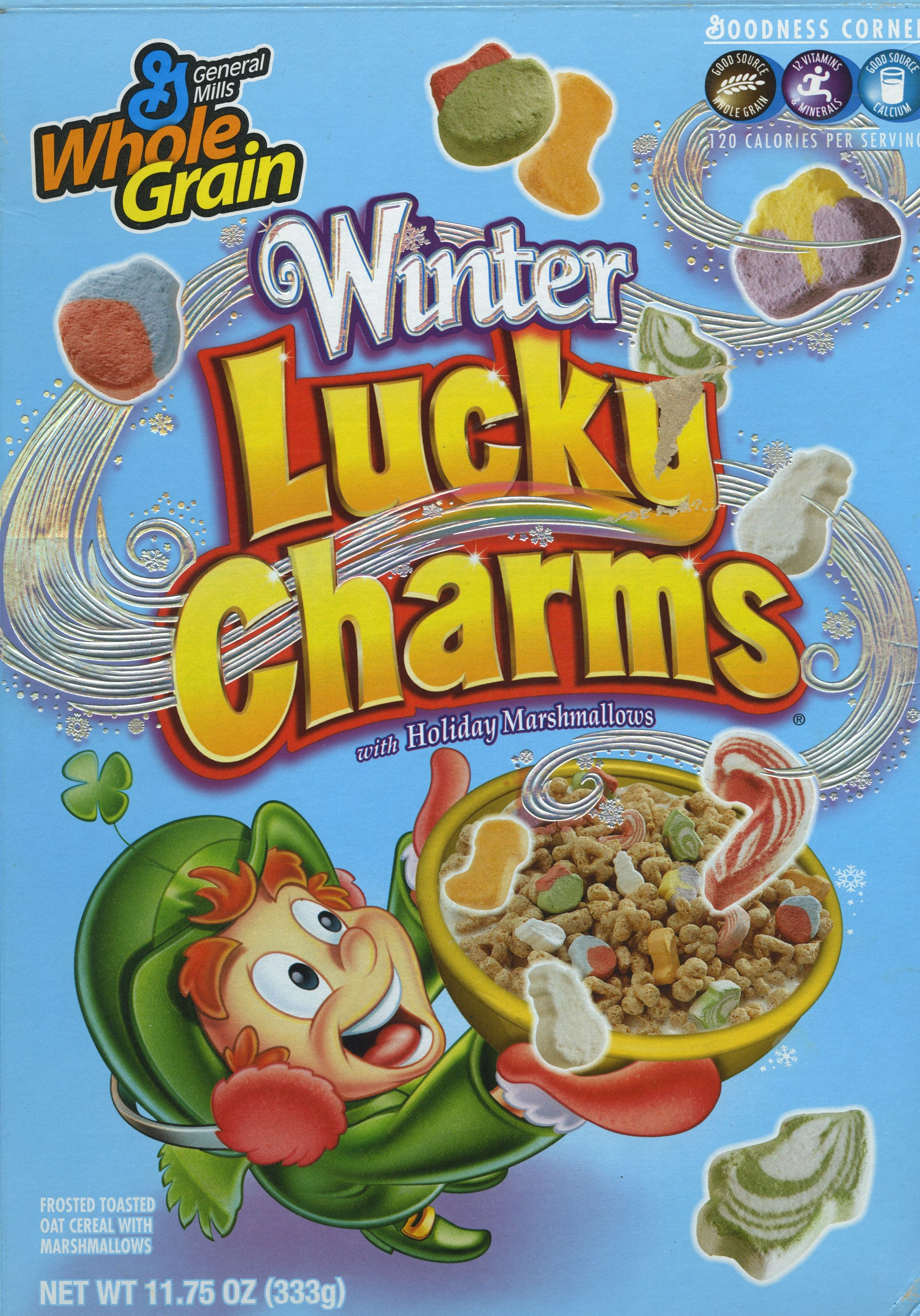 Lucky Charms FRIDGE MAGNET cereal box