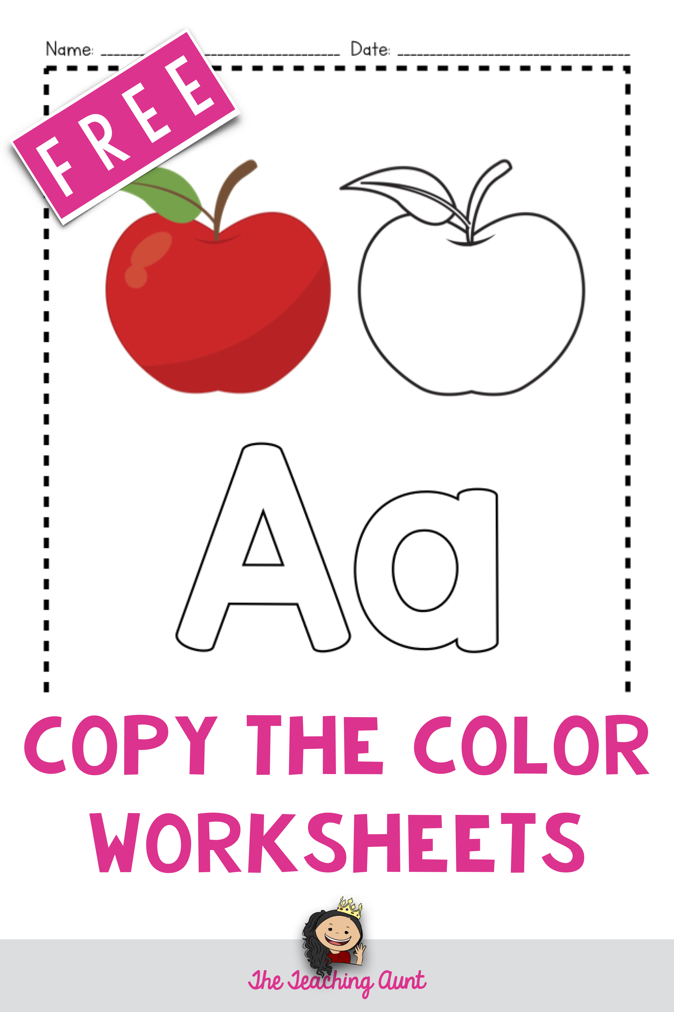 A To Z Paper Pasting Activity Collection In With