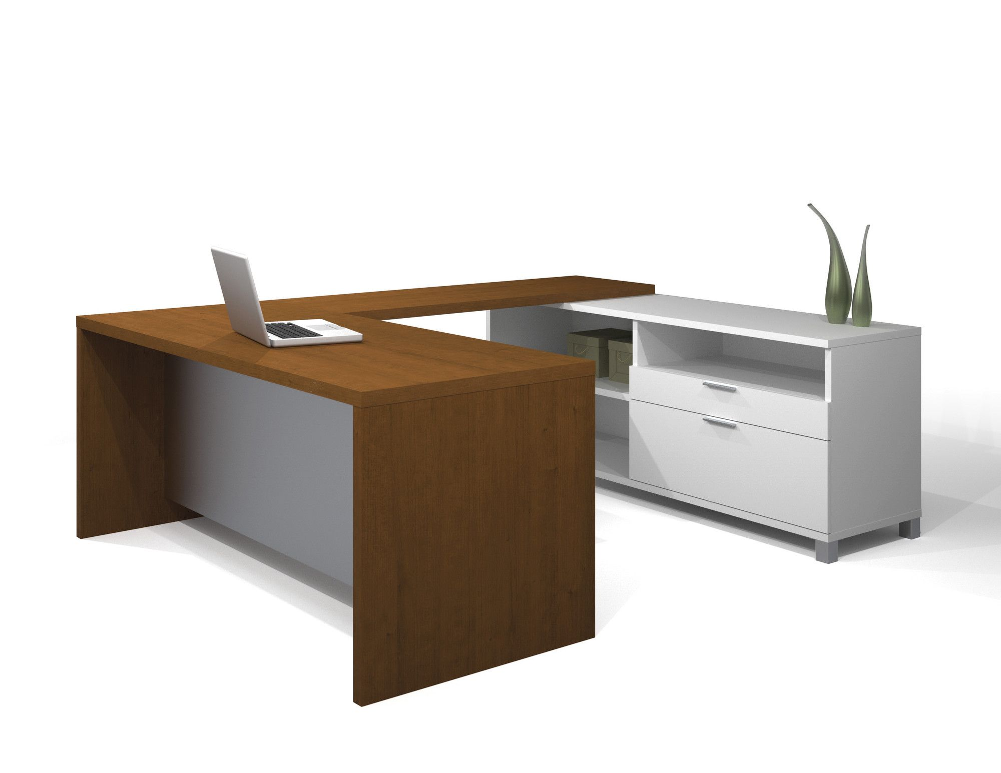 Bestar Pro Linea U Shape Desk Office Suite U0026 Reviews | Wayfair