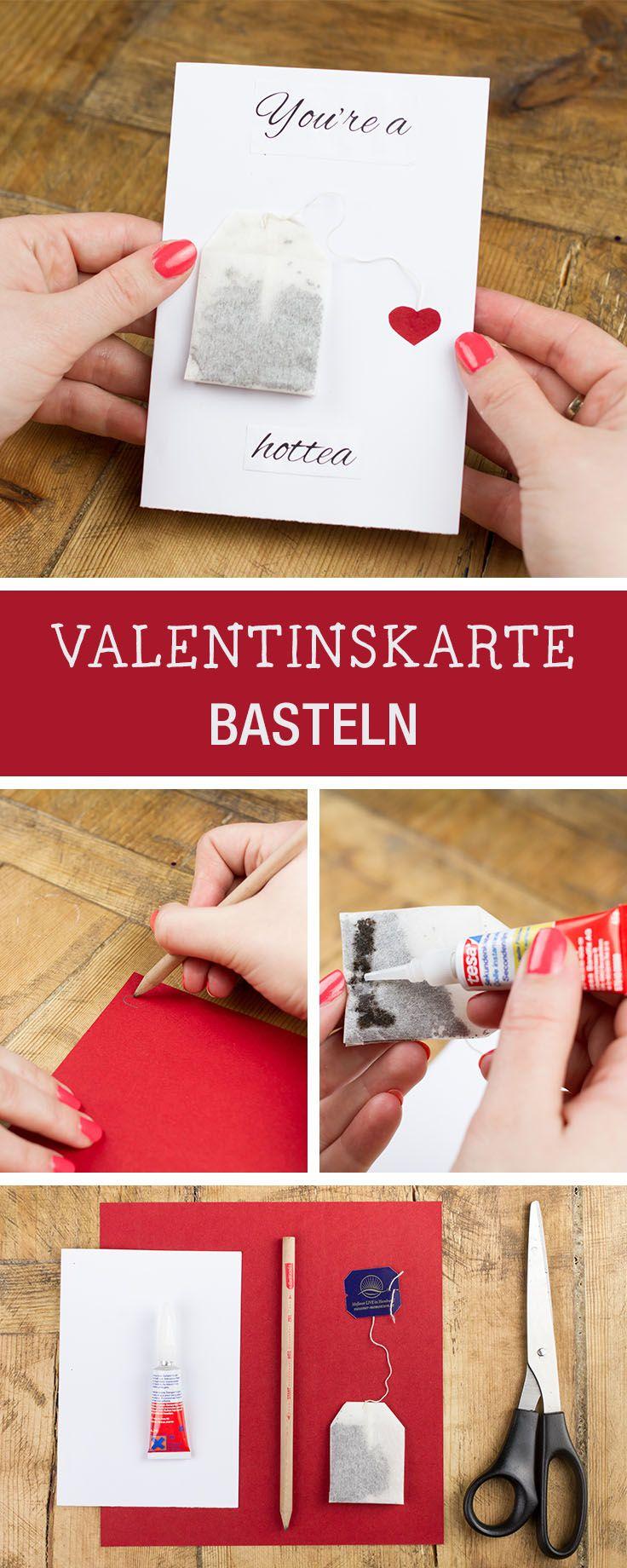 DIY Anleitung: You Are A Hottea   Valentinsgrusskarte Basteln Via  DaWanda.com. Valentinstag IdeenValentinstag MannValentinstagskarten ...