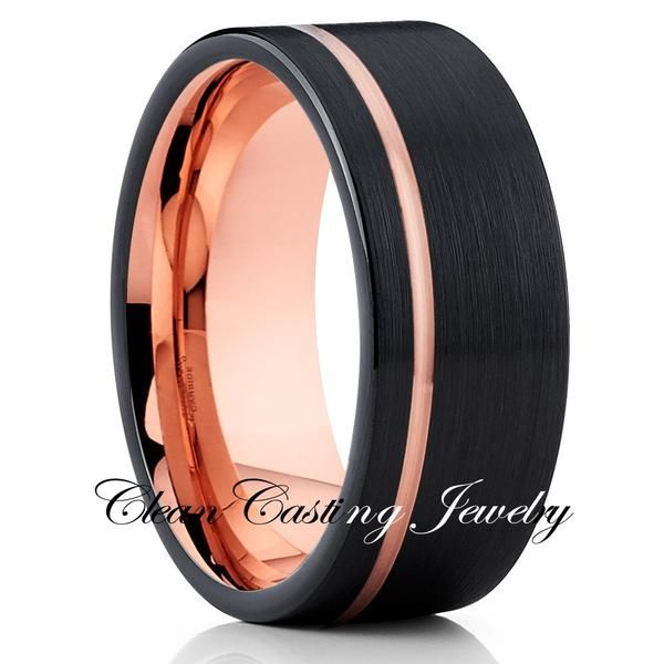 Tungsten Carbide Wedding Band made from high quality unique materials. Our tungsten rings are hand crafted one by one with our team of jewelers.