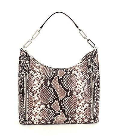 MICHAEL Michael Kors Matilda PythonEmbossed Shoulder Bag #Dillards