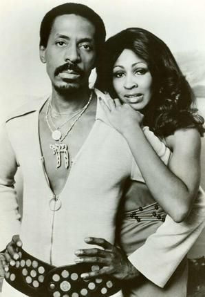 Tina Turner with ex-husband Ike Turner