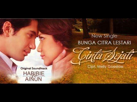 Cinta Sejati Single Terbaru Dari Bunga Citra Lestari Cipt Melly Goeslaw Merupakan Ost Film Habibie Ainun Dimana Pemeran Uta Lagu Cinta Cinta Sejati Lagu