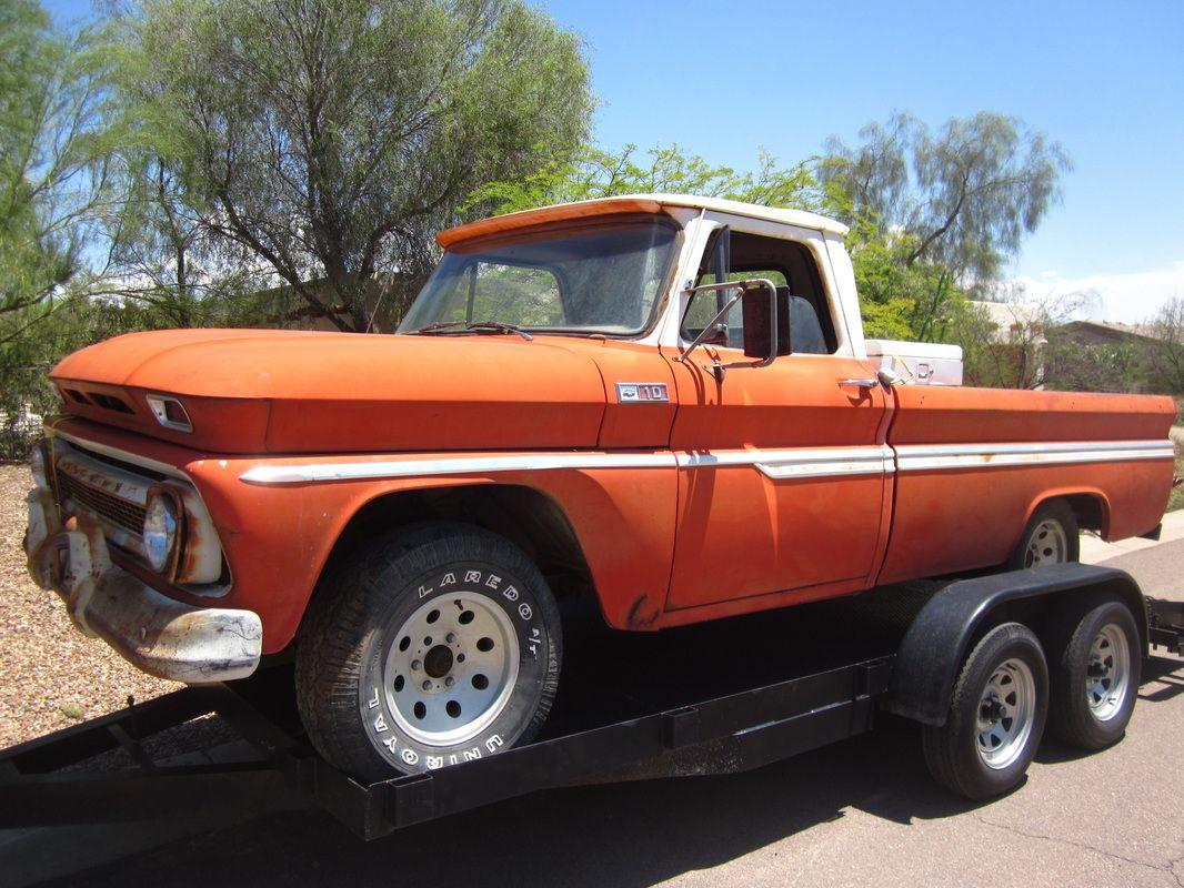 65 Chevy Truck Original Paint Arizona Pickup Truck Chevy