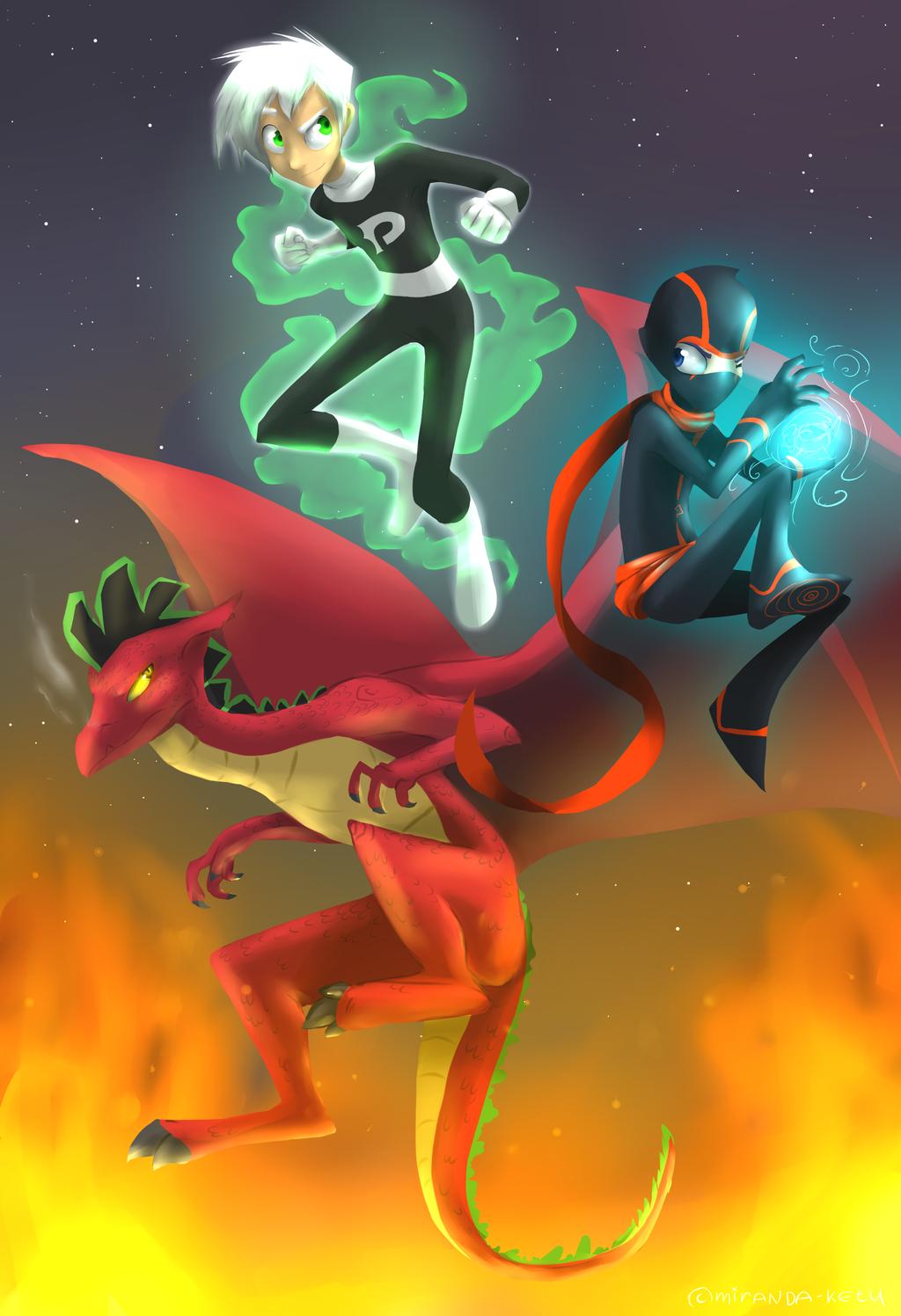 Secret Trio by miranda-ketu on deviantART | The Secret Trio