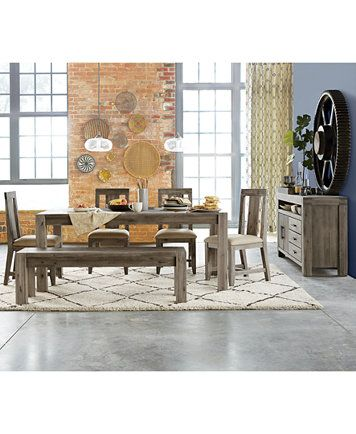 Wondrous Canyon Dining Furniture Collection Created For Macys Pdpeps Interior Chair Design Pdpepsorg