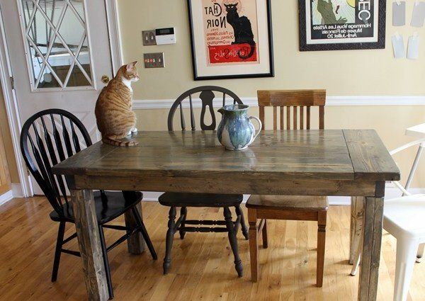 Build Your Own Table For Individual Furnishing Construction Manual And 20 Design Ideas