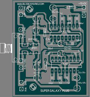 Cara membuat suara audio keren dengan Rangkaian Super Galaxy #logicboard