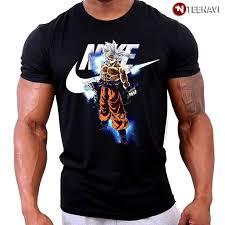 Nike Dragon Ball Son Goku Ultra Instinct T Shirt Teenavi Goku Ultra Instinct Son Goku Dragon Ball
