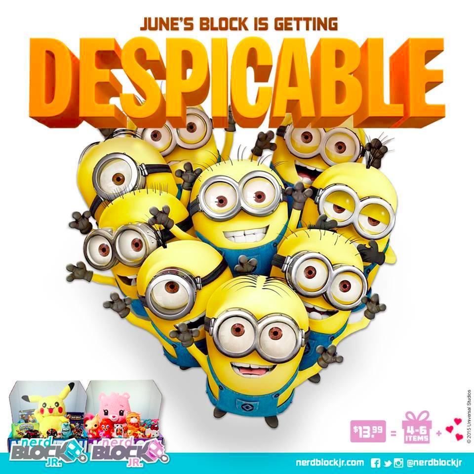 June 2015 Nerd Block Jr. Spoilers & Coupon - http://hellosubscription.com/2015/05/june-2015-nerd-block-jr-spoilers-coupon/